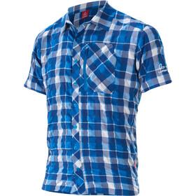 Löffler KA Camisa de Trekking Hombre, cobalt blue